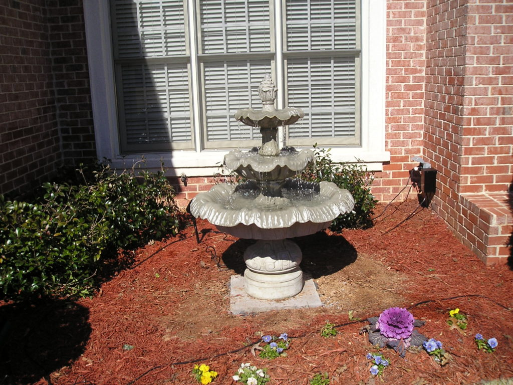 3 Tier Italian Fountain Cast Concrete