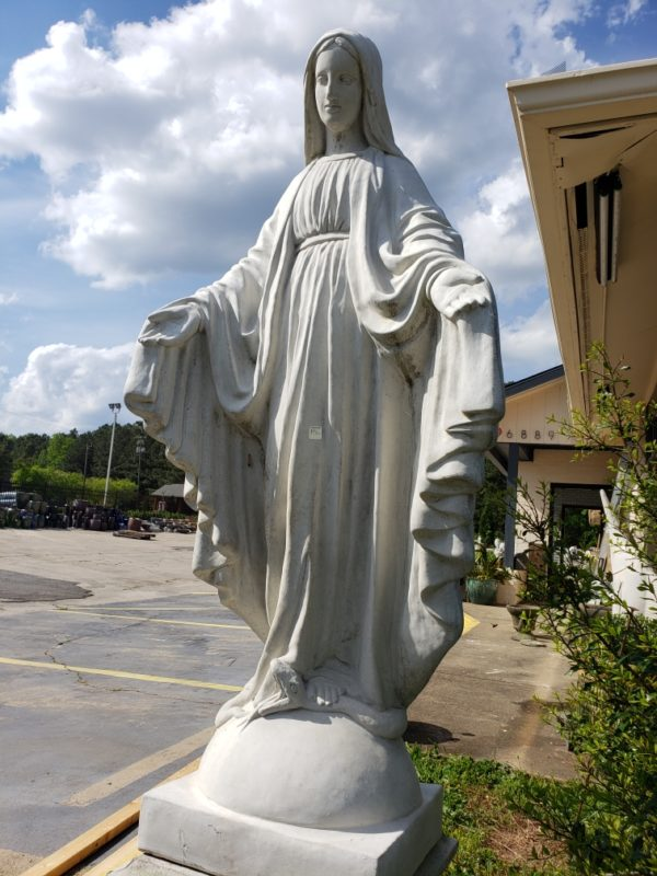 5' Virgin Mary Statue