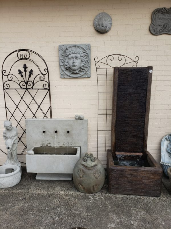 3 Spout and Slate Wall Fountains