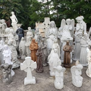 Assortment of Religious Statues