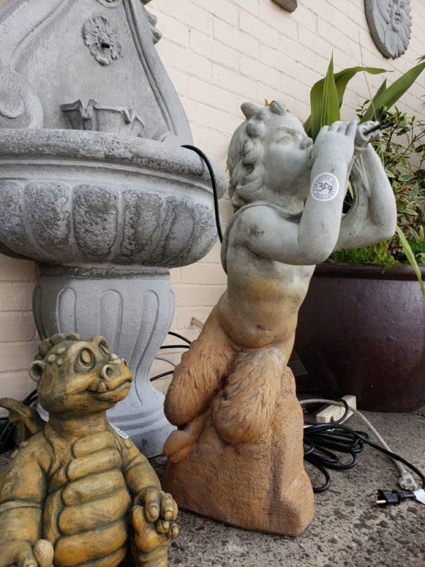 Pan and a Baby Dinosaur