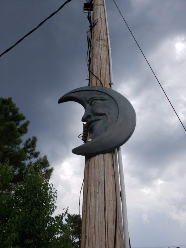 3' Aluminum Moon
