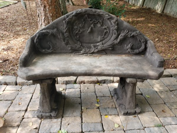 Vine Bench with Back