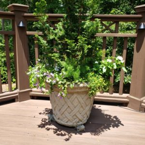 "28"" Lattice Pot"