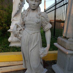 """46"""" Flower Girl Statue"""