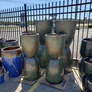 Glazed Pots