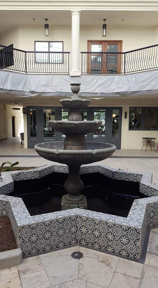4 Tier Charlotte Fountain