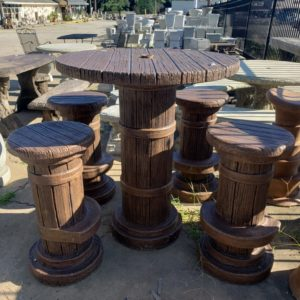 Marina Dock Cocktail Table Set